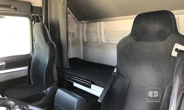 asientos MAN TGX 18.440 4X2 BLS Cabeza Tractora 2011