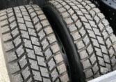 neumáticos traseros MAN TGX 18480 Junio 2013 Cabeza Tractora