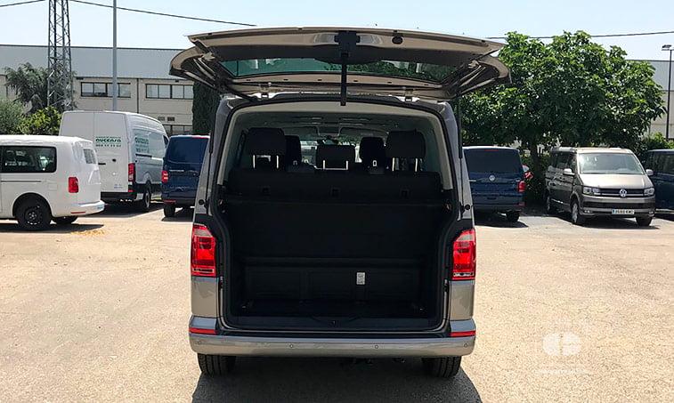 maletero VW Multivan Outdoor DSG 2.0 TDI 150 CV Batalla Corta 2018