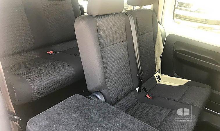 asientos VW Caddy Maxi Trendline 2.0 TDI 102 CV