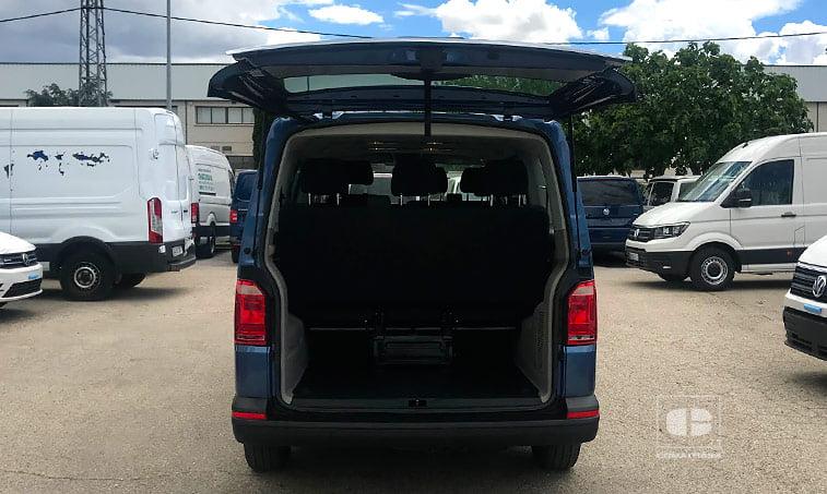 maletero VW Caravelle Trendline 2016 Batalla Corta 2.0 TDI
