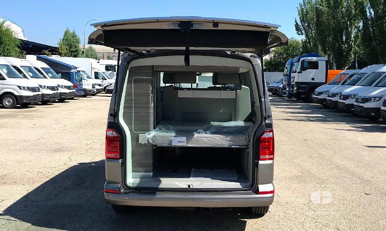 maletero VW California Ocean 204 CV 2.0 TDI DSG
