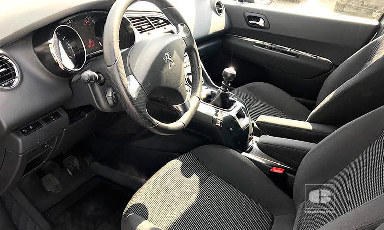 asientos Peugeot 5008 1.2 Pure Tech 130 CV (gasolina) 2016