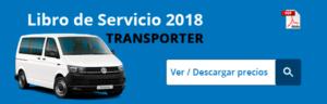 Tarifas libro de servicio VW Transporter 2018 (precios)