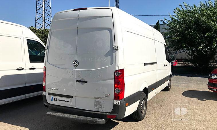 lateral derecho VW Crafter 35 2.0 TDI 136 CV Furgoneta