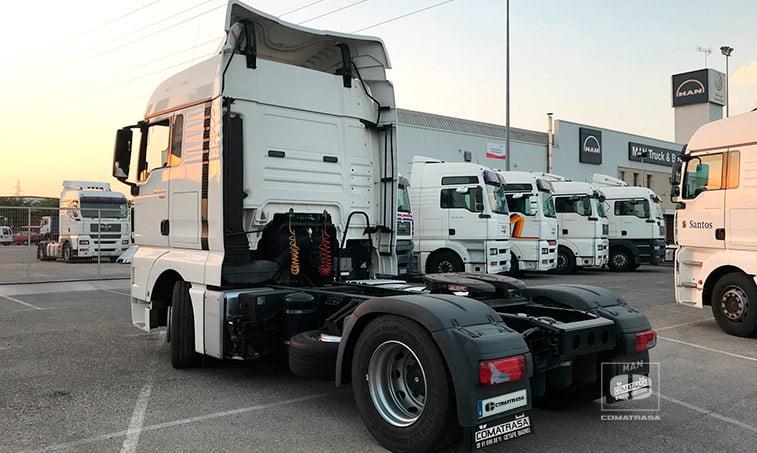 lateral izquierda MAN TGX 18440 4x2 BLS Tractora Ocasión