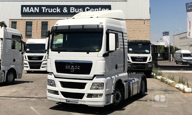 MAN TGX 18480 4x2 BLS Tractora 2013