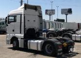 lateral izquierda MAN TGX 18480 4x2 BLS Tractora 2013