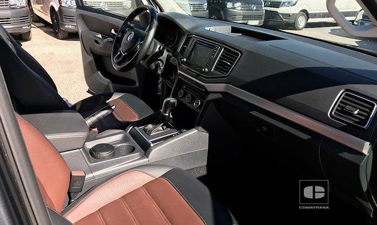 asientos piel VW Amarok 204 CV 3.0 TDI Highline 4 Motion 2018