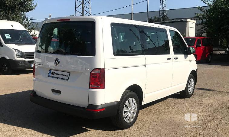 lateral derecha VW Caravelle Trendline 102 CV 2.0 TDI Batalla Corta