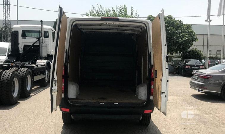 zona de carga VW Crafter 30 Batalla Media 2.0 TDI BMT 109 CV