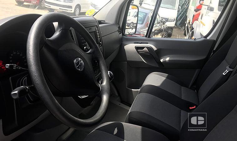 interior VW Crafter 30 Batalla Media 2.0 TDI BMT 109 CV