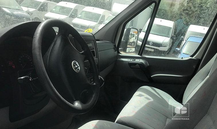 interior VW Crafter 50 Chasis Cabina 2.5 TDI 136 CV