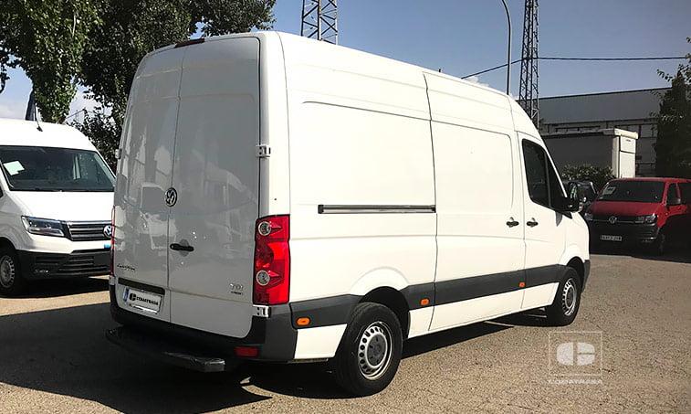lateral derecho VW Crafter Furgón 2.0 TDI 109 CV 2014