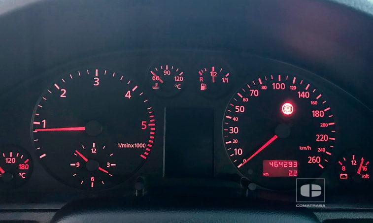 kilómetros Audi A4 QUATTRO 1.9 TDI 110 CV
