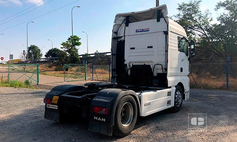 lateral derecho MAN TGX 18480 4x2 BLS Efficientline Tractora 2012