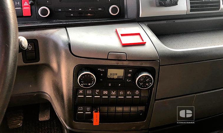 aire acondicionado MAN TGX 18480 4x2 BLS Efficientline Tractora 2012