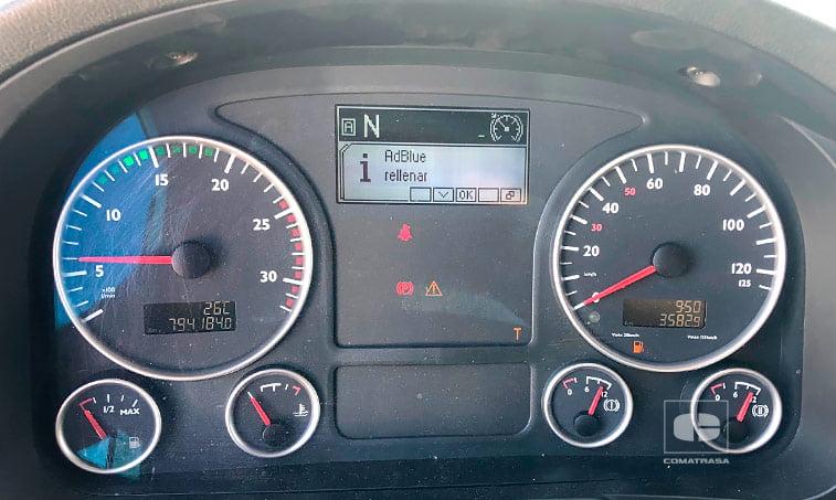 kilómetros MAN TGX 18480 4x2 BLS Efficientline Tractora 2012