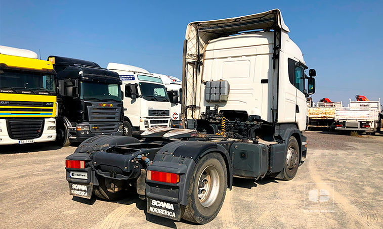 lateral derecho Scania R480 Cabeza Tractora 2009