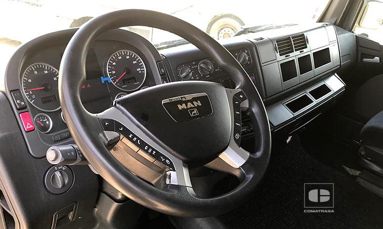interior cabina Tractora MAN TGA 18440 4x2 BLS