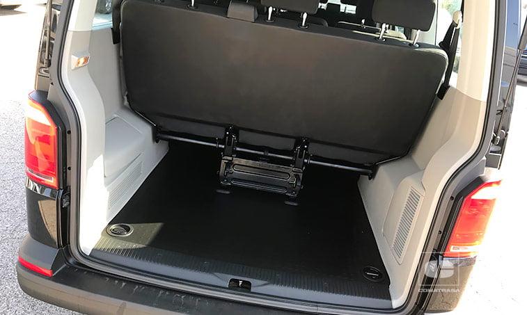 amplio maletero VW Caravelle Trendline 2.0 TDI 102 CV 2017