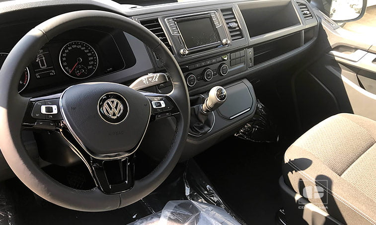 interior VW Multivan The Original 102 CV 2.0 TDI BC 2018