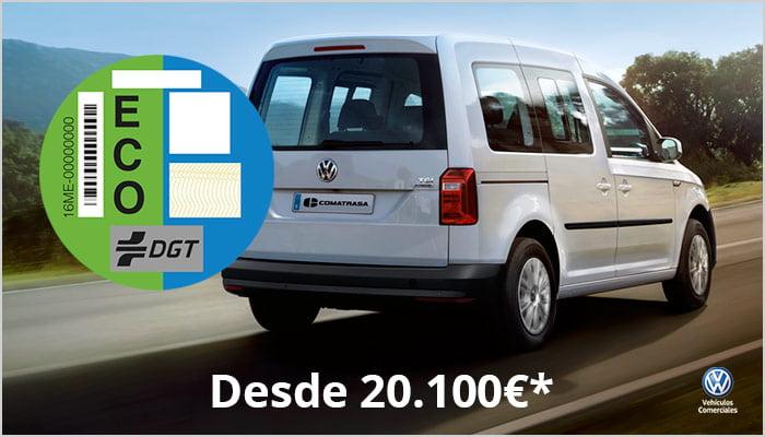 VW Caddy GNC Taxi