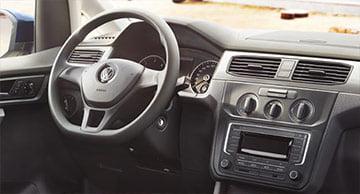 Volante de cuero multifunción VW Caddy GNC