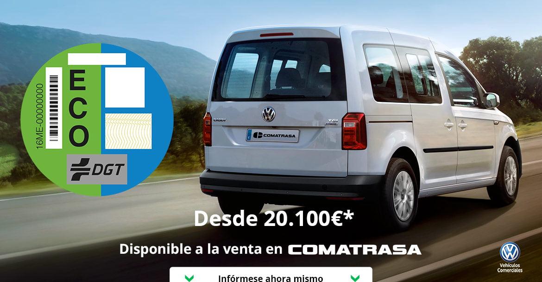 Volkswagen Caddy GNC el único Taxi con 7 plazas