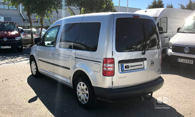 lateral izquierdo VW Caddy 1.6 TDI 102 CV Furgoneta Ocasión 2013