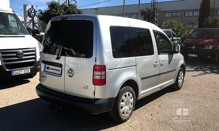 lateral derecho VW Caddy 1.6 TDI 102 CV Furgoneta Ocasión 2013