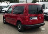 lateral izquierdo VW Caddy Profesional Kombi 2.0 TDI 75 CV Mixto