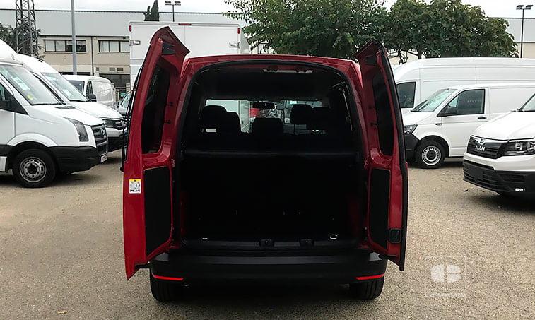 maletero VW Caddy Profesional Kombi 2.0 TDI 75 CV Mixto
