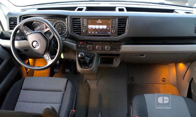 parte delantera Volkswagen Crafter Camperizado 2.0 TDI 140 CV