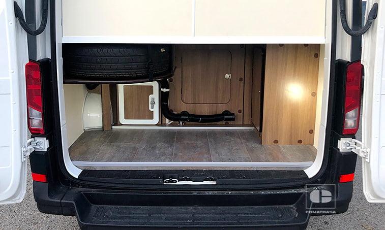 maletero Volkswagen Crafter Camperizado 2.0 TDI 140 CV