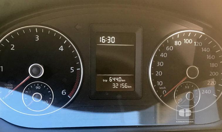 kilómetros VW Caddy Profesional Kombi 2.0 TDI 75 CV Mixto