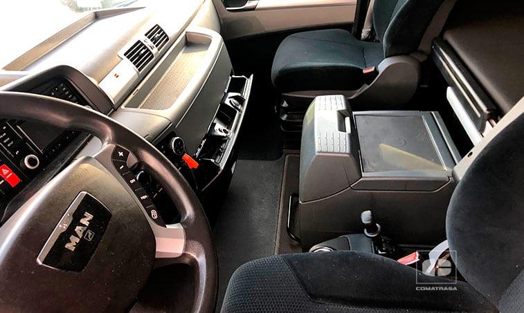 interior cabina MAN TGX 18480 EfficientLine