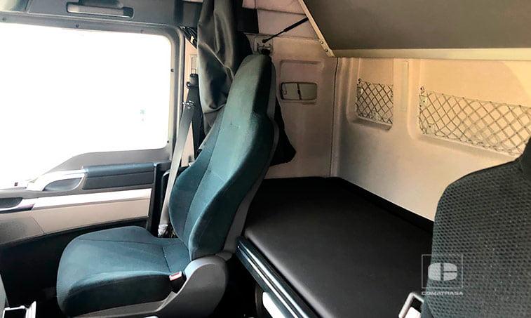 asientos MAN TGX 18480 EfficientLine