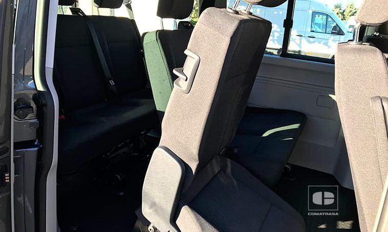asientos Volkswagen Caravelle Trendline 2.0 TDI 150 CV Mixto