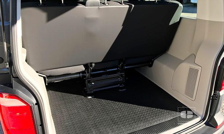 espacio maletero Volkswagen Caravelle Trendline 2.0 TDI 150 CV Mixto