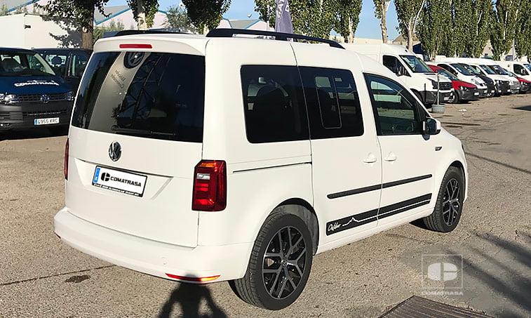 lateral derecho VW Caddy Outdoor 2.0 TDI 102 CV Mixto