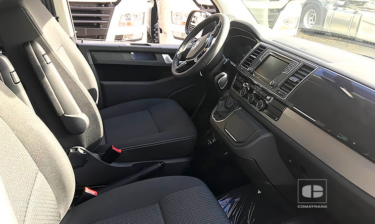 asientos delanteros VW Multivan Outdoor DSG 2.0 TDI 150 CV