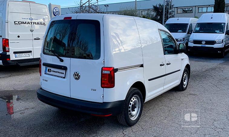 lateral derecho Volkswagen Caddy 1.6 TDI 75 CV Furgoneta