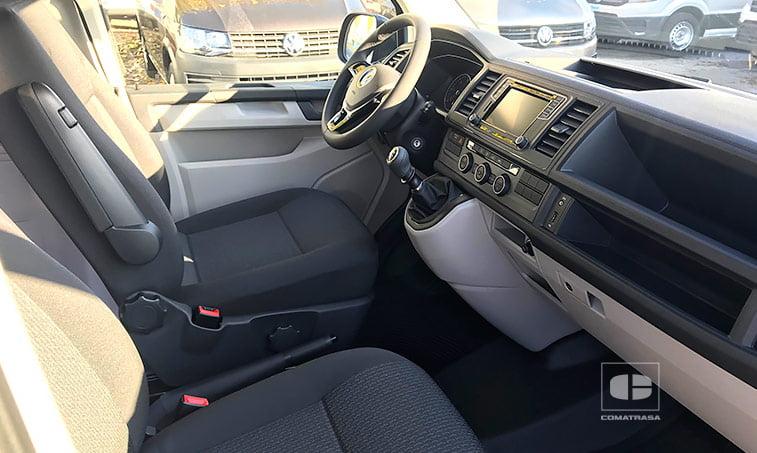 asientos delanteros Volkswagen Caravelle 2.0 TDI 114 CV Mixto Adaptable