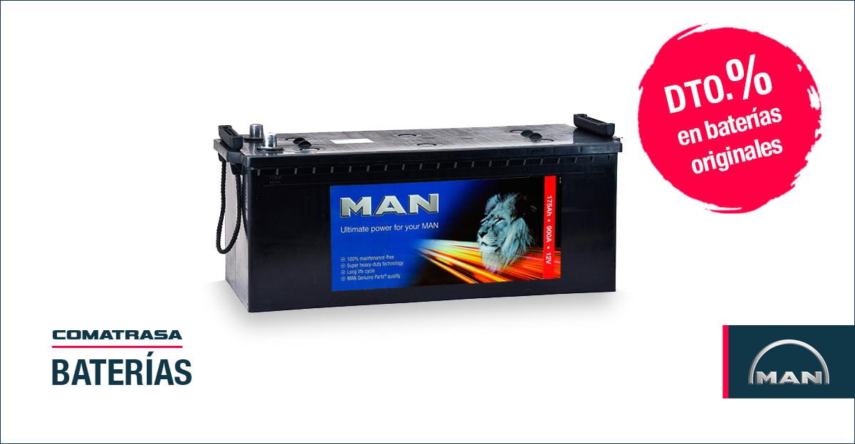 Baterías MAN Truck
