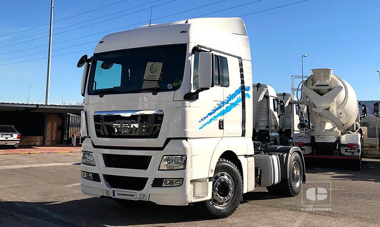 Tractora MAN TGX 18480 4x2 BLS Equipo Hidráulico