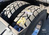 neumáticos traseros Tractora MAN TGX 18480 4x2 BLS Equipo Hidráulico