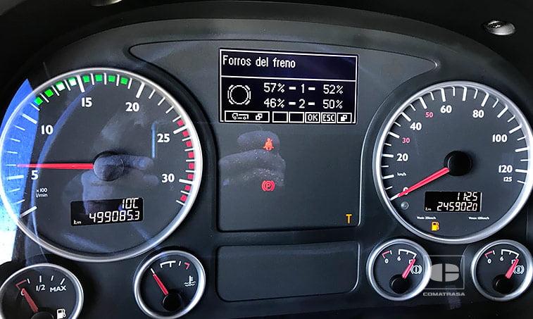 kilómetros Tractora MAN TGX 18480 4x2 BLS Equipo Hidráulico