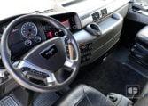 interior cabina Tractora MAN TGX 18480 4x2 BLS Equipo Hidráulico