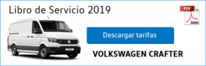 Tarifas Volkswagen Crafter 2019